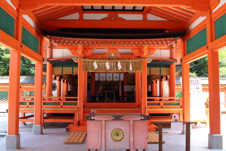 福岡市東区香椎 香椎宮の写真5