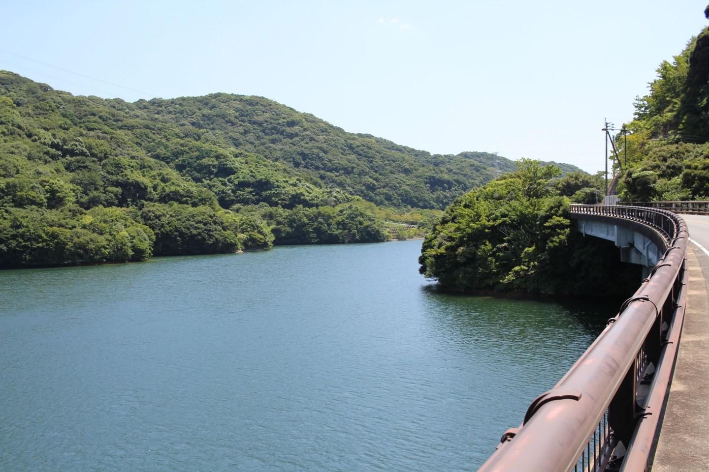 福岡市 長谷ダムの風景写真