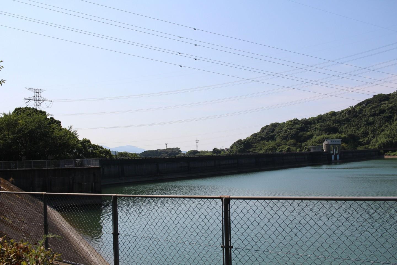 北九州市 畑貯水池の写真