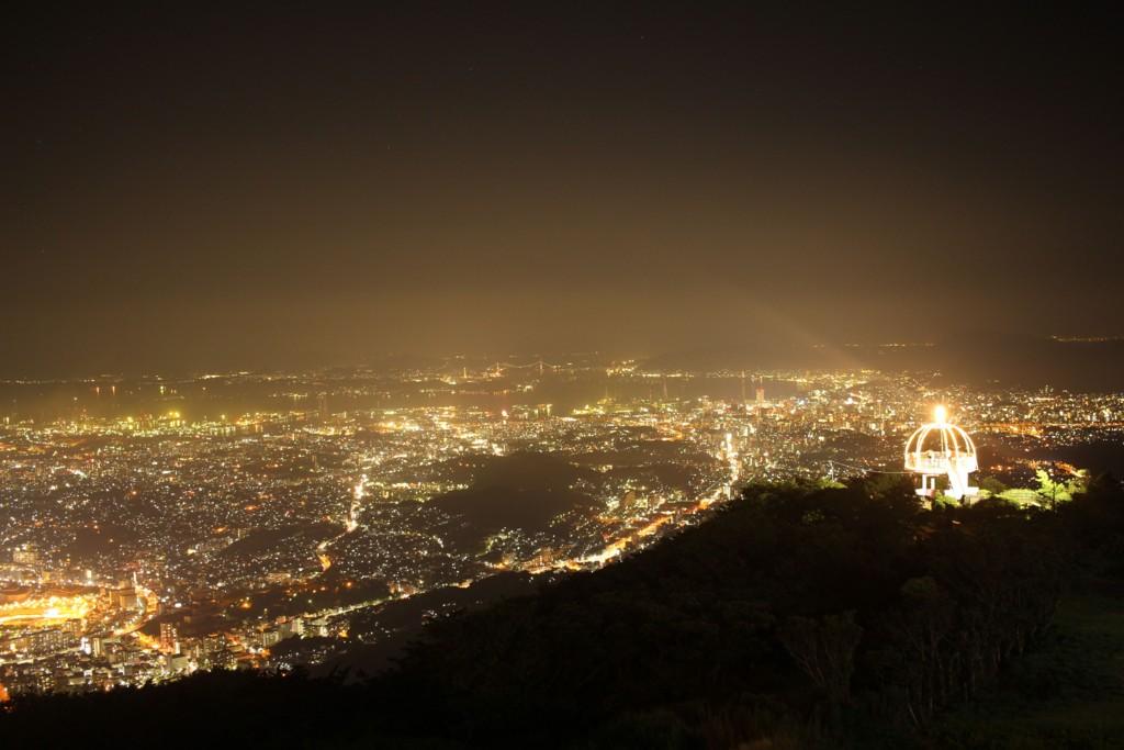 北九州市 皿倉山の夜景の写真1