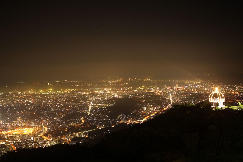 福岡県北九州市 皿倉山の夜景の写真2