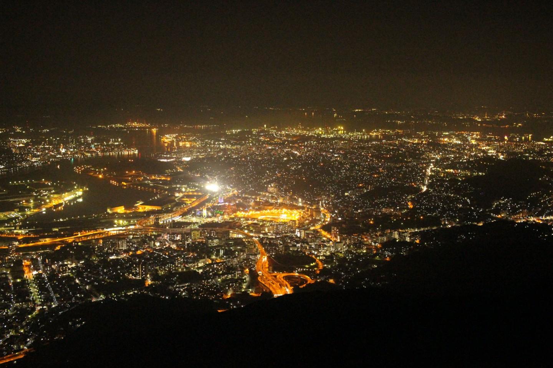 福岡県北九州市 皿倉山の夜景の写真4