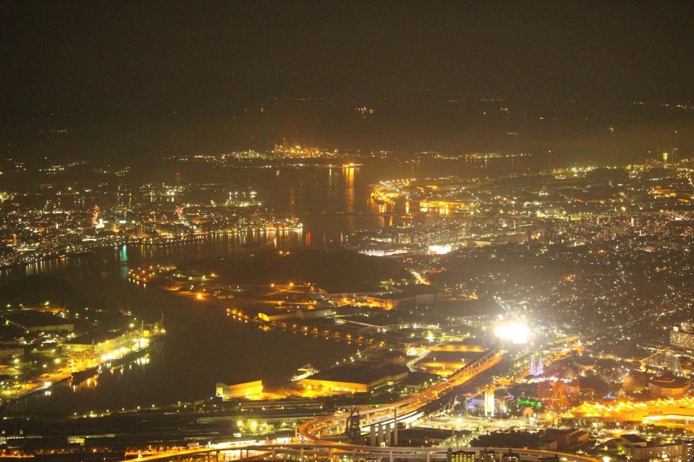 福岡県北九州市 皿倉山の夜景の写真5