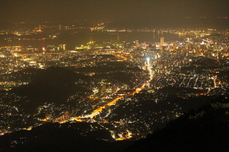 福岡県北九州市 皿倉山の夜景の写真6
