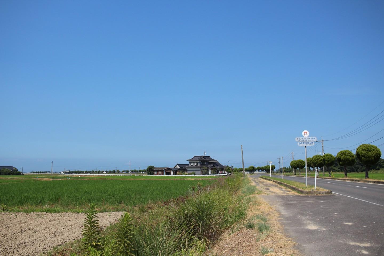 宇佐市の田園風景の写真