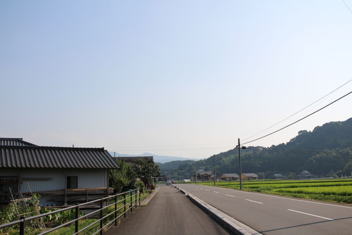 大分県道50号の風景の写真