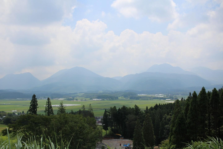 朝日台展望台の風景写真