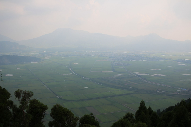 城山展望所からの風景写真