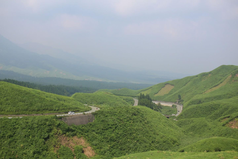 根子岳付近の景色の写真