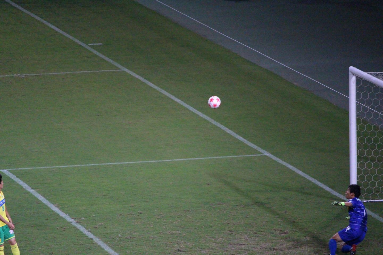 天皇杯1回戦 ジェフ千葉 VS 北海道教育大学岩見沢校 丹羽選手のゴールの写真