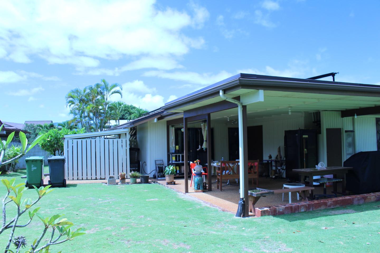 ハワイの個人宅の写真