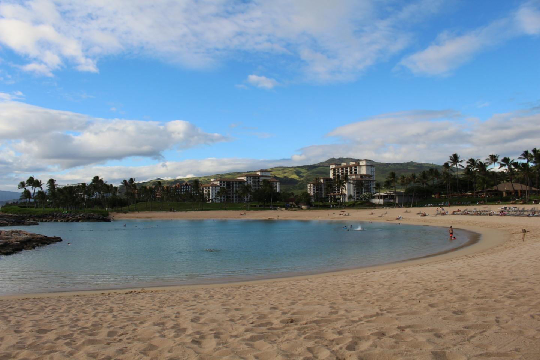 コオリナビーチのラグーンの写真
