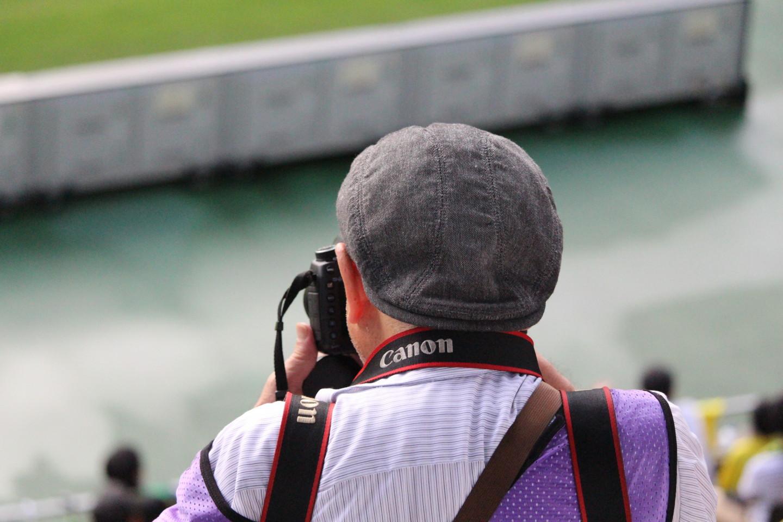 J2 第35節 千葉 VS 京都 公式写真を撮るカメラマンの写真