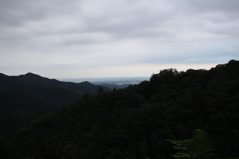 入山峠からの景色の写真