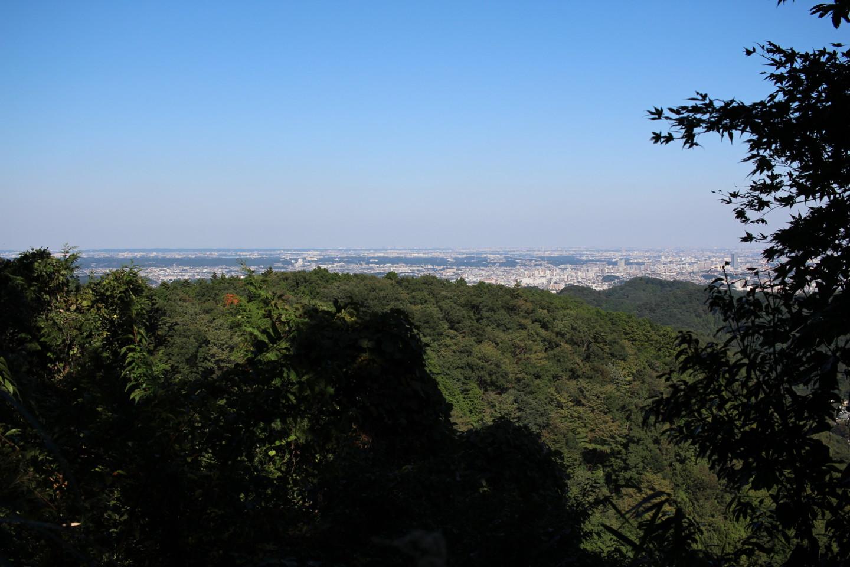 稲荷山展望台からの景色の写真