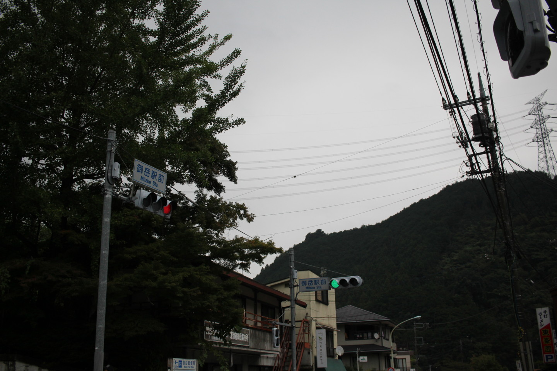 JR御嶽駅前の写真