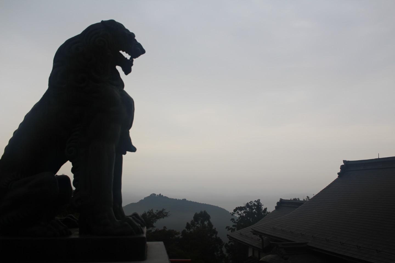 武蔵御嶽神社からの景色の写真