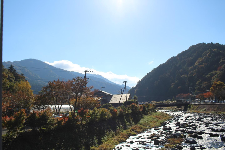 道の駅どうしのかっぱ橋からの景色の写真