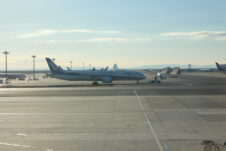羽田空港第2ターミナルからの写真