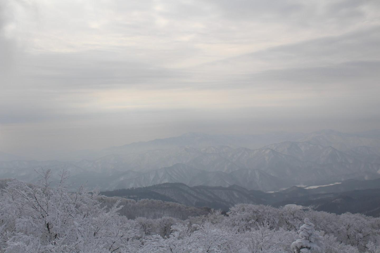 森吉山阿仁スキー場の霧氷の写真5