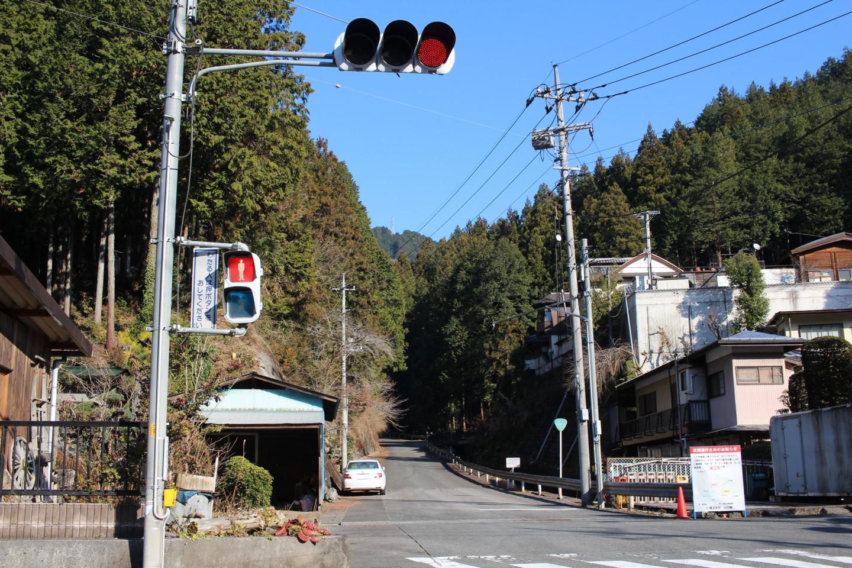 仁田山峠入り口の写真