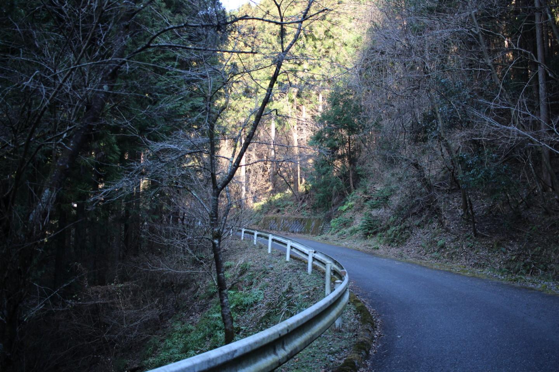 仁田山峠の写真