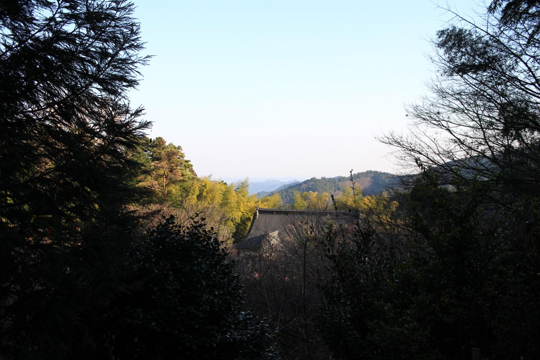 飯能市 竹寺からの景色の写真