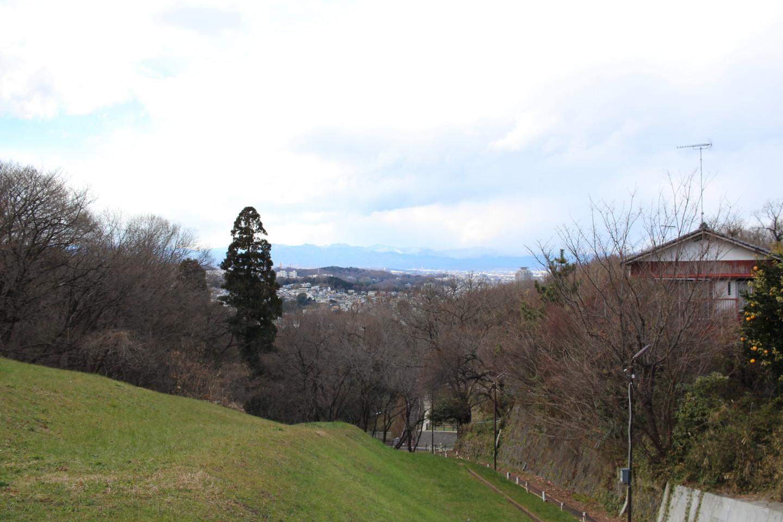 都立桜ヶ丘公園からの景色の写真1