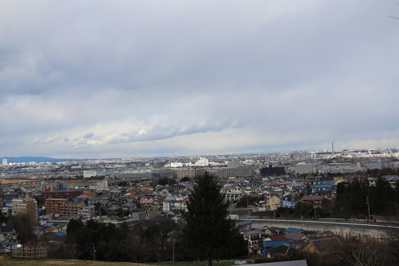 桜ヶ丘公園 ゆうひの丘展望台からの景色の写真