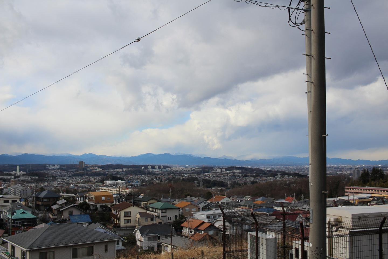 多摩大学多摩キャンパス付近からの景色の写真