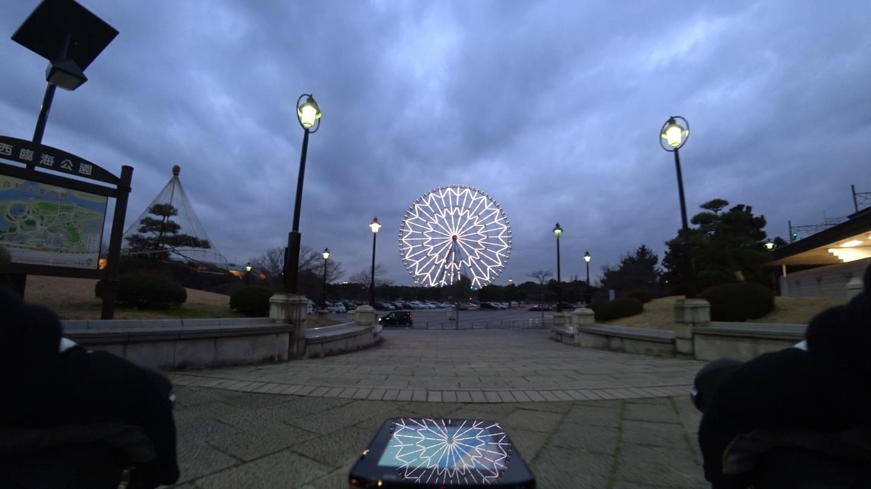 葛西臨海公園の観覧車の写真