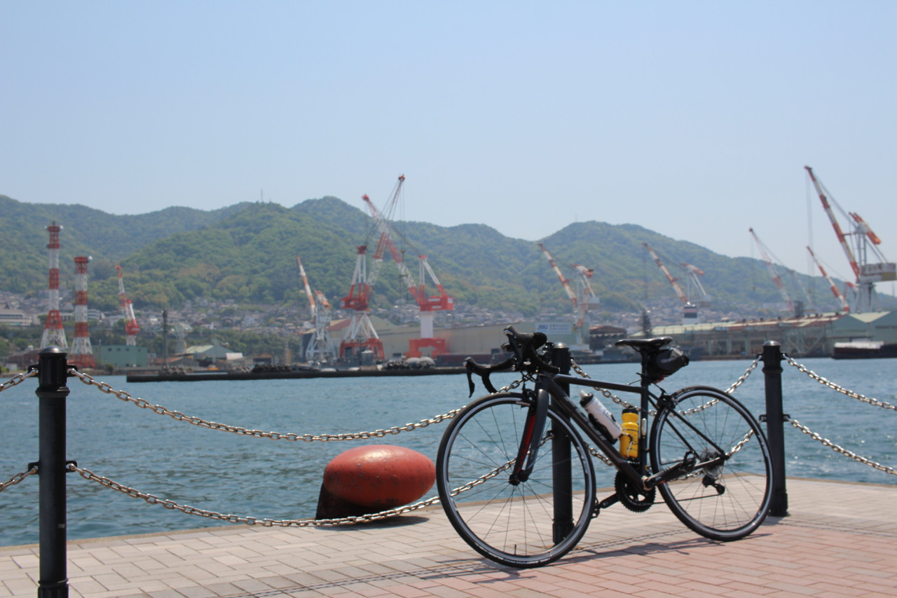 呉港にてFUJI ROUBAIXの写真
