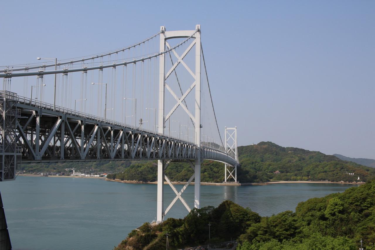 しまなみ海道 向島から因島への橋の写真