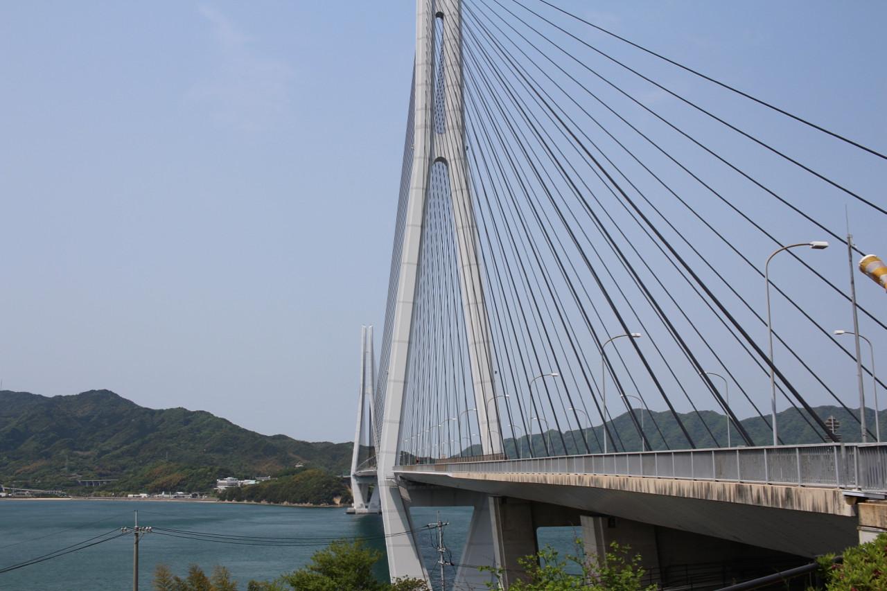 しまなみ海道 生口島から大三島へかかる橋の写真2