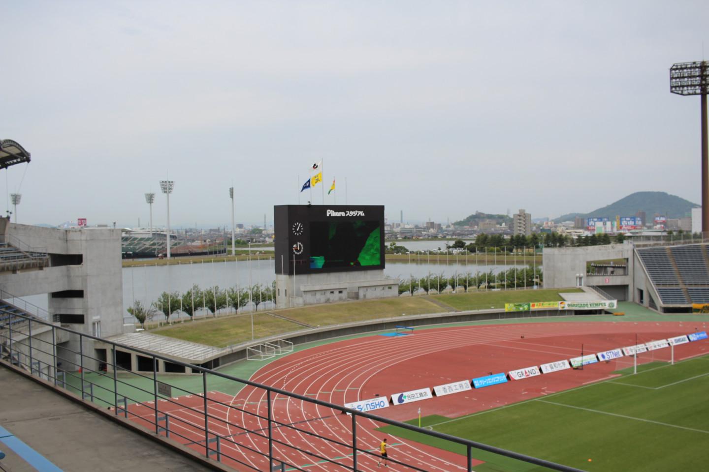 Pikaraスタジアムの内部の写真