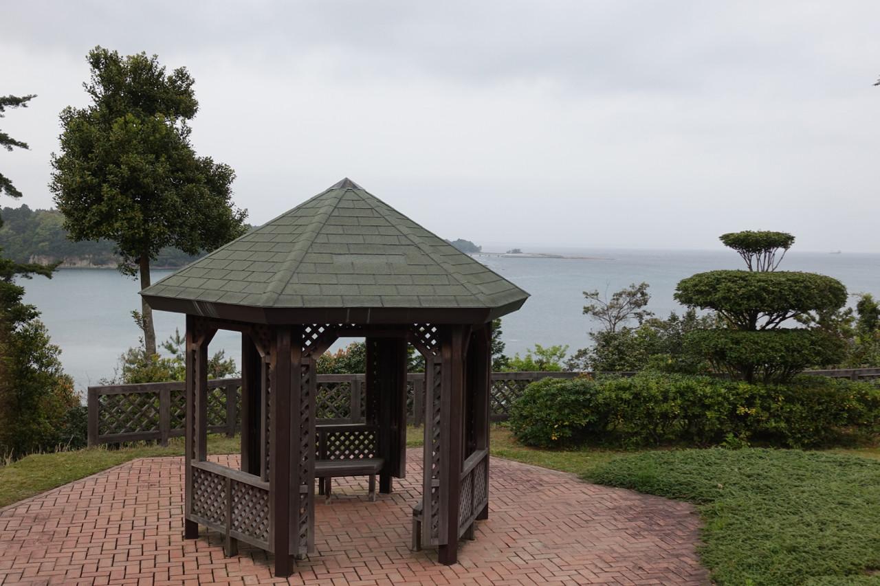日本海倶楽部からの景色の写真