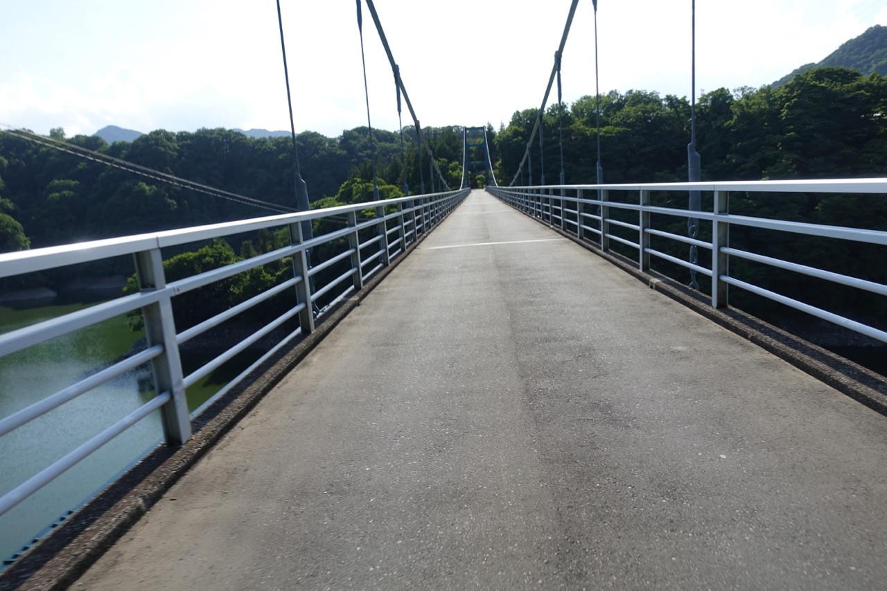 津久井湖の名手橋の写真