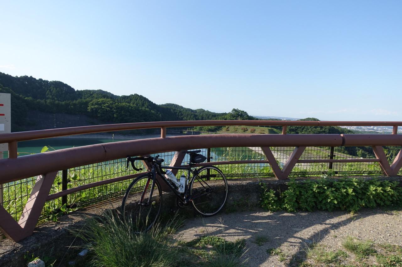 城山湖にてFUJI ROUBAIXの写真