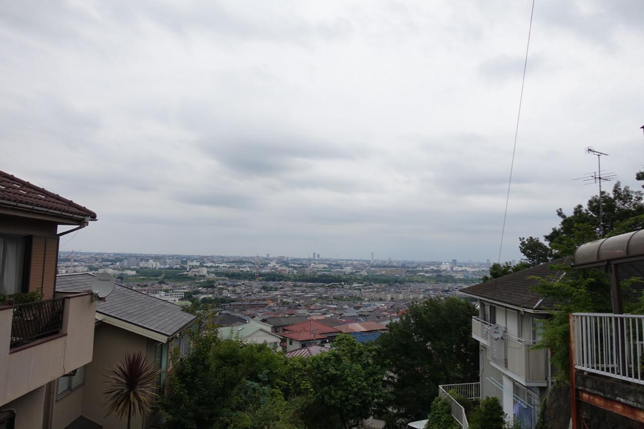 高幡不動のガスト坂からの景色の写真