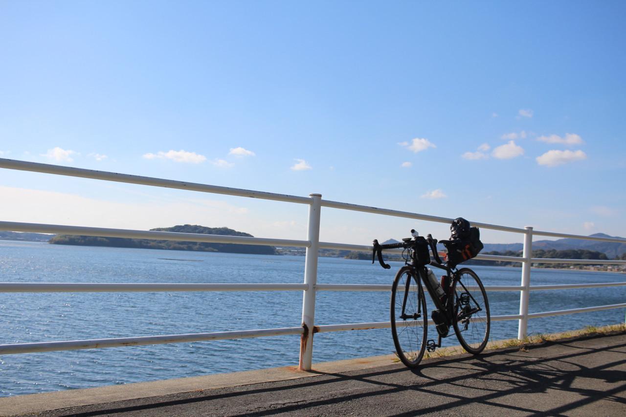 浜名湖にてFUJI Roubaix 1.3の写真