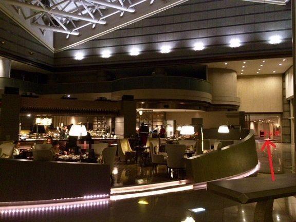 東京マリオットホテルのラウンジ&ダイニングG
