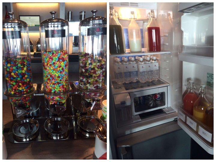 冷蔵庫の中はジュース類