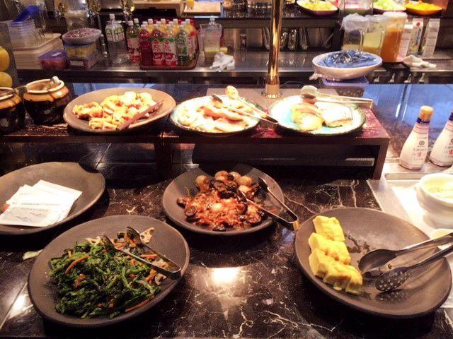 東京マリオットホテルの朝食の和食