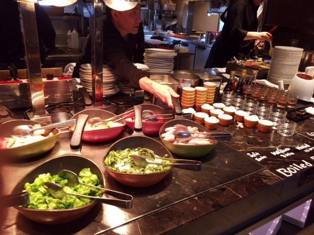 東京マリオットホテルの朝食の