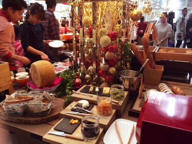 東京マリオットホテルの朝食チーズ