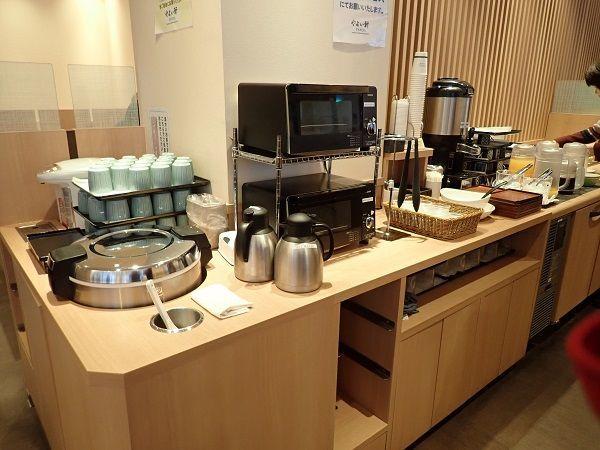 JRイン札幌駅南口ホテルの朝食、やよい軒の写真