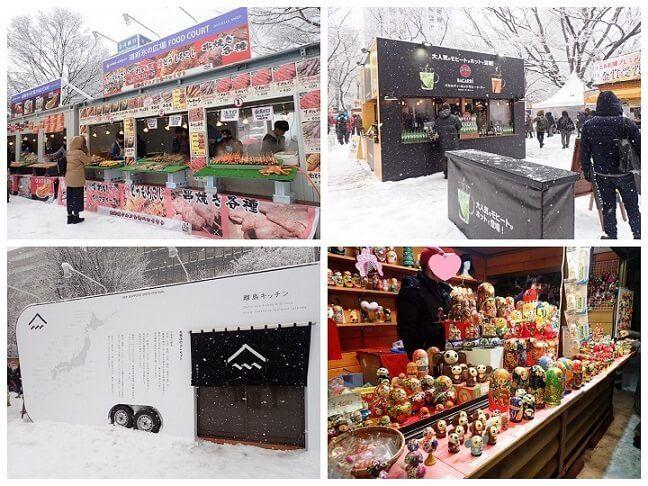 札幌雪まつりの出店