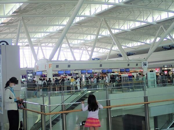 2018年GW福岡空港国際線の様子