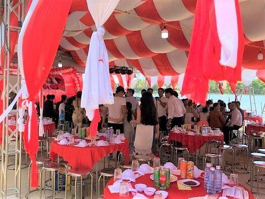 ホイアンの結婚式