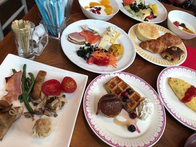 コートヤード東京ステーションの朝食